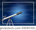 A sky background night 49095481
