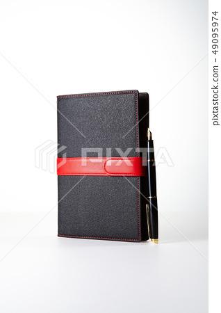 日記,筆記本,鋼筆,鋼筆 49095974