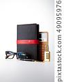 日記,鋼筆,眼鏡,計算器 49095976