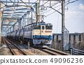 [貨運列車EF65原色JNR顏色美里站] 49096236