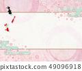 日本現代櫻桃金魚背景材料 - 春天 49096918