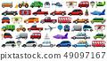 Set of transportation vehicle 49097167