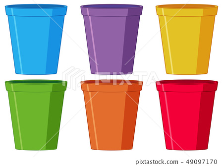 Set of plastic cup 49097170