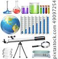 Set of science tool 49097254