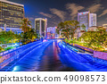 Night view of the River of Life 49098573