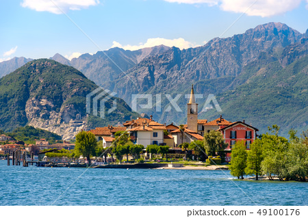 Fishermens Island on Lake Maggiore - Italy 49100176