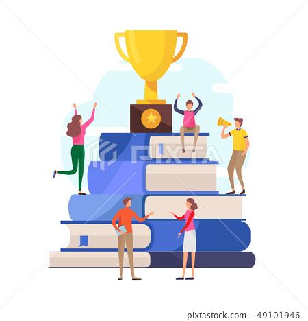 Success education concept. winner,reward. 49101946