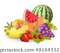 Groups of fruits 49104332