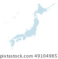 dotted japan map normal size type2 49104965