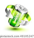 Green battery full level indicator 49105247