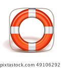 Life Belt in upright 49106292