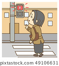 Women who can not cross the signal 49106631