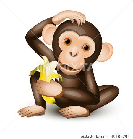 Little monkey 49106795