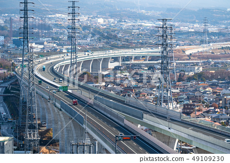 << Shizuoka Prefecture New Tomei Expressway / traffic image 49109230