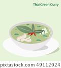 Flat Thai Green Curry or KANG KIEW WAN 49112024