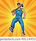 working with hammer employee specialist worker 49114453