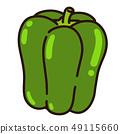 green pepper 49115660