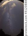 銀河系(魚眼鏡頭攝影) 49120888