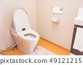 Toilet of a general house 49121215