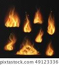 เปลวเพลิง,ไฟ,เวกเตอร์ 49123336