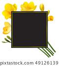 凍結花卉框架。 49126139