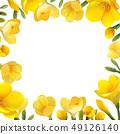 凍結花卉框架。 49126140