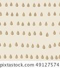 낙숫물 디자인. 북유럽 풍의 원활한 패턴. 49127574