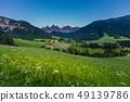 Iconic Dolomites mountain landscape 49139786