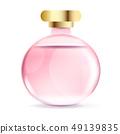 French Perfume Vintage . Romantic Floral Design. 49139835