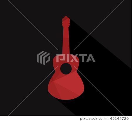 guitar icon 49144720