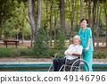senior, wheelchair, elderly 49146796