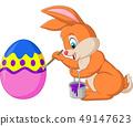 달걀, 벡터, 토끼 49147623