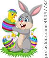 달걀, 벡터, 병아리 49147782