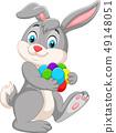 달걀, 벡터, 만화 49148051