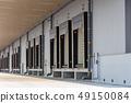 냉동 창고의 독 대피소 (창고 · 배송 센터와 트럭의 틈새를 막는 장치) 49150084