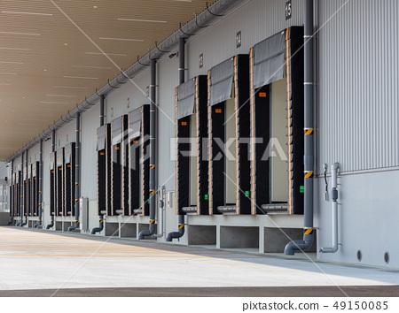 냉동 창고의 독 대피소 (창고 · 배송 센터와 트럭의 틈새를 막는 장치) 49150085