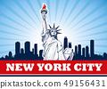 Statue of Liberty, NYC,USA 49156431