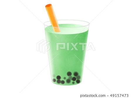 Tapioca drink 49157473
