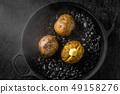 Baked potato (jacket potato) baked potato 49158276