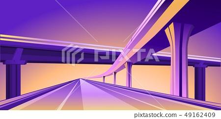 overpass viaduct bridge 49162409