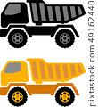 dumper truck illustration 49162440