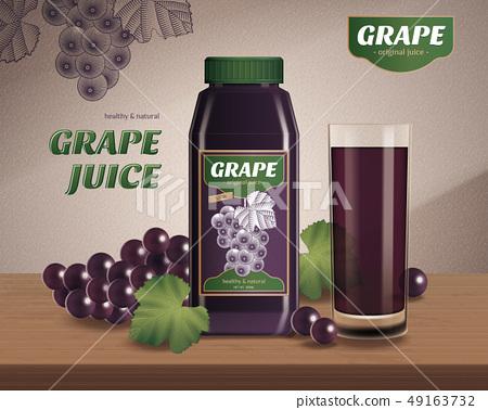grape bottled juice ads 49163732