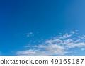 ท้องฟ้าสีฟ้าและเมฆ 49165187