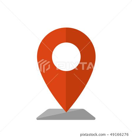 地圖別針地圖圖標 49166276