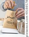 text no plastic is fantastic in a paper bag 49166578