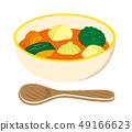 Vegetable soup tomato 49166623