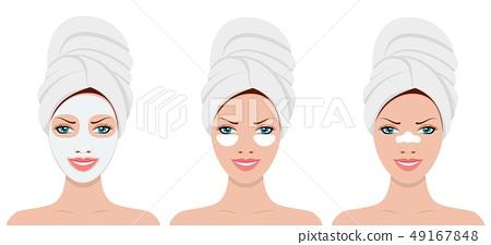 womens head in towel 49167848