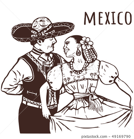 Mexican nationality is a woman and a man. 49169790