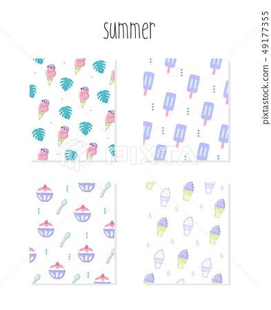 夏天模式圖 49177355