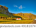 Beautiful rural landscape in iceland 49181074